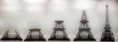 Photograph - Construction Of Lego Eiffel Tower by Natasha Bishop