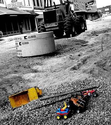 Construction Site Art Print by   Joe Beasley