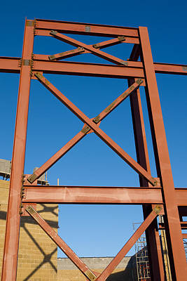 Photograph - Construction Site by Melinda Fawver