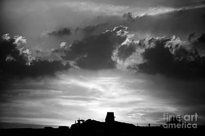 Photograph - Construction Sunset by Paul Cowan