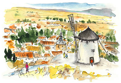 Don Quijote Painting - Consuegra 02 by Miki De Goodaboom