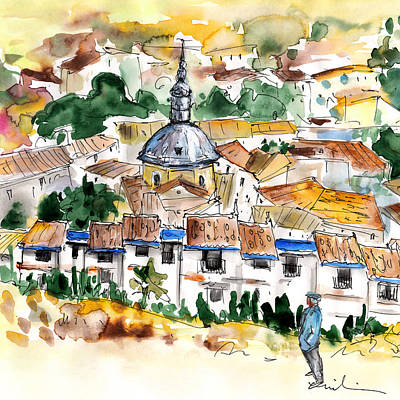 Don Quijote Painting - Consuegra 03 by Miki De Goodaboom