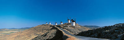 Consuegra La Mancha Spain Art Print by Panoramic Images