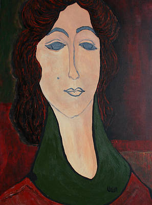Painting - Consuelo by Oscar Penalber