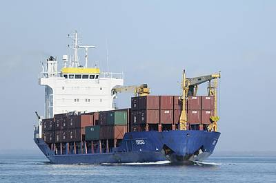 Photograph - Container Ship Orso by Bradford Martin