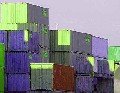 Photograph - Containers 10 by Laurie Tsemak