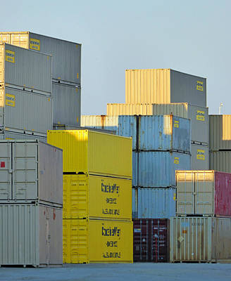 Photograph - Containers 12 by Laurie Tsemak