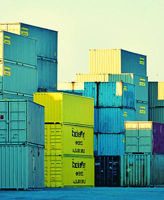 Photograph - Containers 16 by Laurie Tsemak