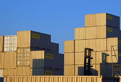 Photograph - Containers 17 by Laurie Tsemak