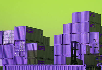 Photograph - Containers 19 by Laurie Tsemak