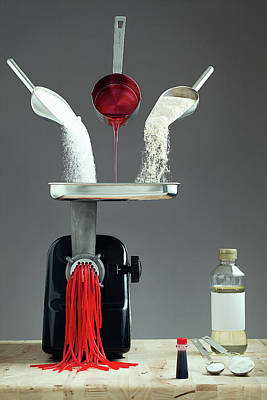 Flour Photograph - Contains 0% Real Fruit!! by Timothy Tichy