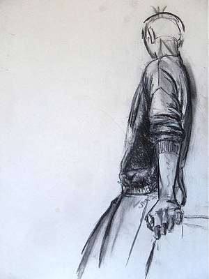 Contemplation Art Print by Myke  Irving
