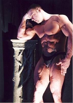 Pecs Digital Art - Contemplation Of Hercules by Jake Hartz
