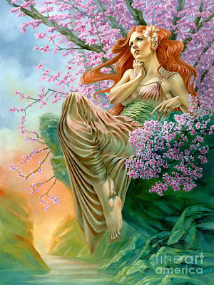 Other Worldly Painting - Contemplation Of Summer by Matt Hughes