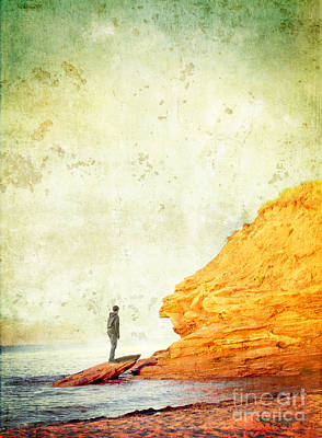 Contemplation Point Art Print by Edward Fielding