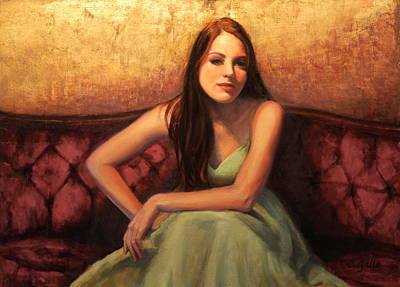 Contemplative Painting - Contemplative by Colleen Gallo