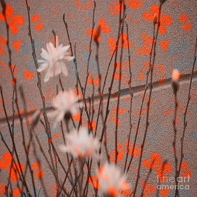 Photograph - Contemporary Art - Butterfly Kisses - Luther Fine Art by Luther Fine Art