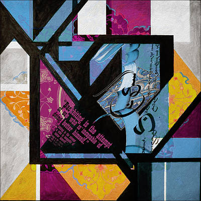 Painting - Contemporary Islamic Art 45 C by Corporate Art Task Force