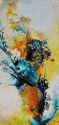 Painting - Contemporary Islamic Art 54 B by Corporate Art Task Force