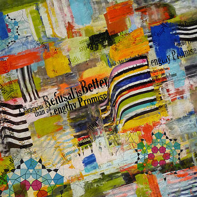 Arabic Art Painting - Contemporary Islamic Art 63 by Corporate Art Task Force