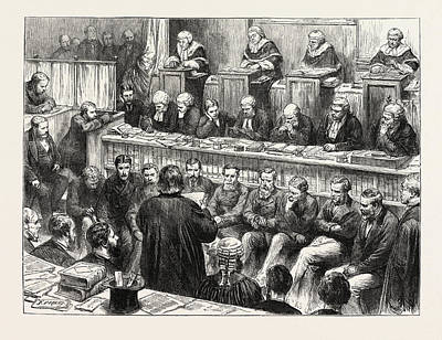 Contempt Of Court The Tichborne Claimant And Mr Art Print