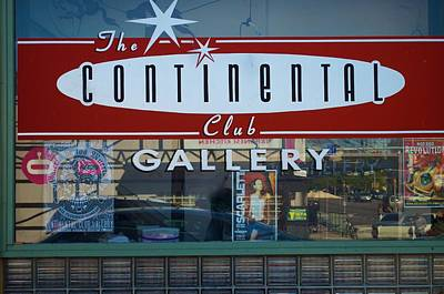 Photograph - Continental Club Austin Texas by Kristina Deane