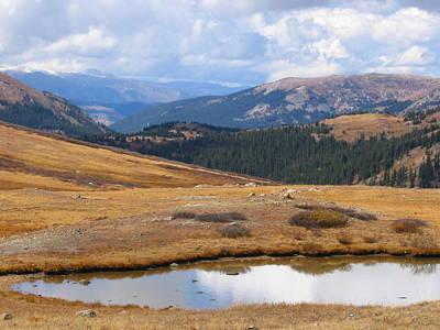 Photograph - Continental Divide Colorado by Teresa Cox