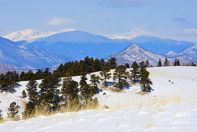 Steven Krull Royalty-Free and Rights-Managed Images - Continental Divide by Steven Krull