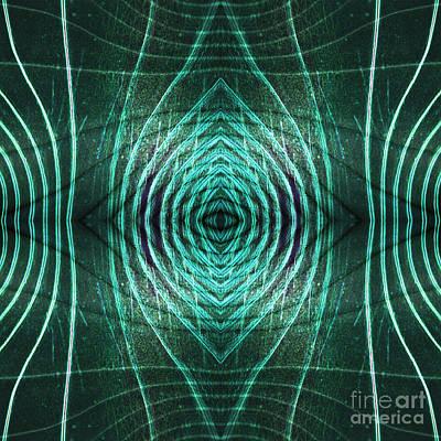 Digital Art - Contours 5 by Wendy Wilton