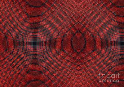 Digital Art - Contours 6 by Wendy Wilton