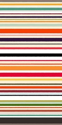 Stripe Drawing - Contrast Stripe Pattern by Sharon Turner
