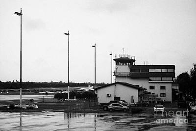 Pmc Photograph - Control Tower At El Tepual Airport Puerto Montt Chile by Joe Fox