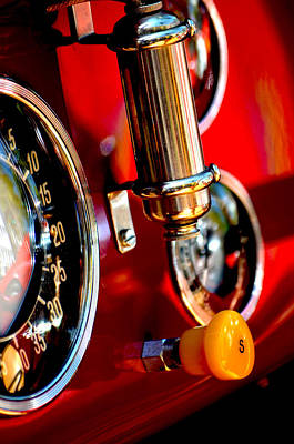 Photograph - Controls Of Ferrari by Deprise Brescia