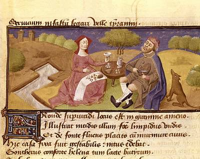 Controversia De Nobilitate. 1420 - Art Print