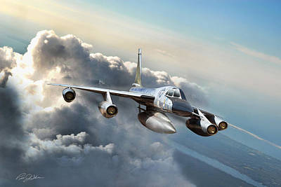 Convair Classic Art Print by Peter Chilelli