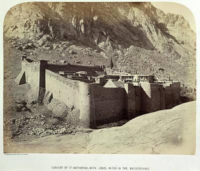 Sinai Photograph - Convent Of St. Katherine by British Library