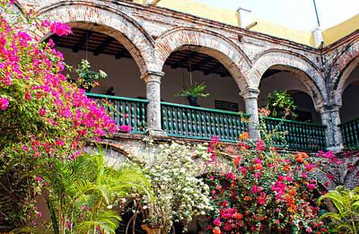 Photograph - Convento De La Popa Cartagena by Kurt Van Wagner