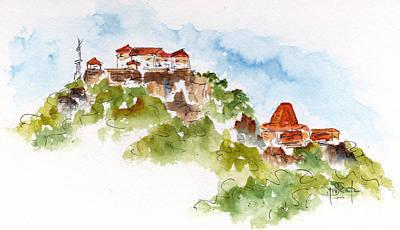 Painting - Convento De La Popa by Pat Katz