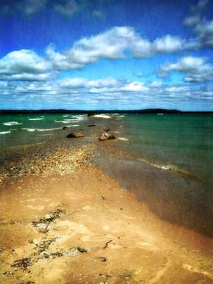 Elk Rapids Photograph - Convergence by Michelle Calkins