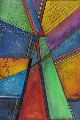 Painting - Convergence by Nicole Nadeau