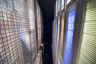Tokyo Skyline Photograph - Convergence by Oz Yilmaz