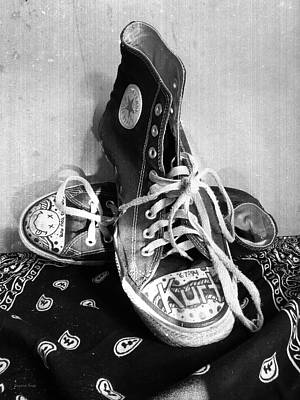 Photograph - Converse Graffiti by Shawna Rowe