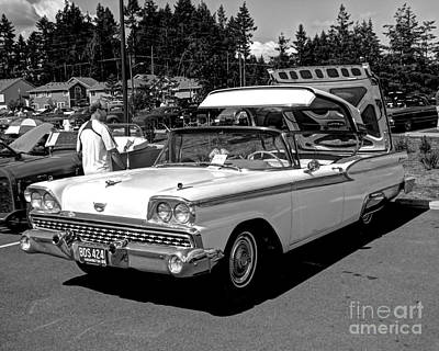 Photograph - Convertable Classic  by Chris Anderson