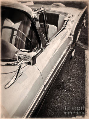 Classic Automobile Photograph - Convertible Dreams by Edward Fielding