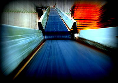 Photograph - Conveyor by Guy Pettingell