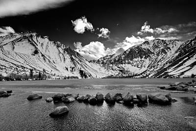 Winter Landscapes Photograph - Convict Lake by Cat Connor
