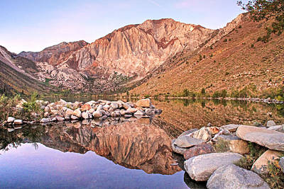 Mammoth Photograph - Convict Lake by Donna Kennedy
