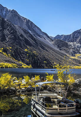 Photograph - Convict Lake Fall 2012 by Kim Swanson