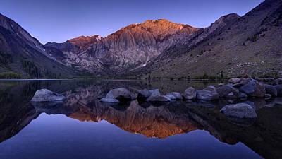 Photograph - Convict Lake by Sean Foster
