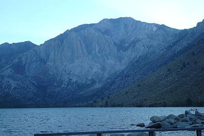 Photograph - Convict Lake by Susan Woodward